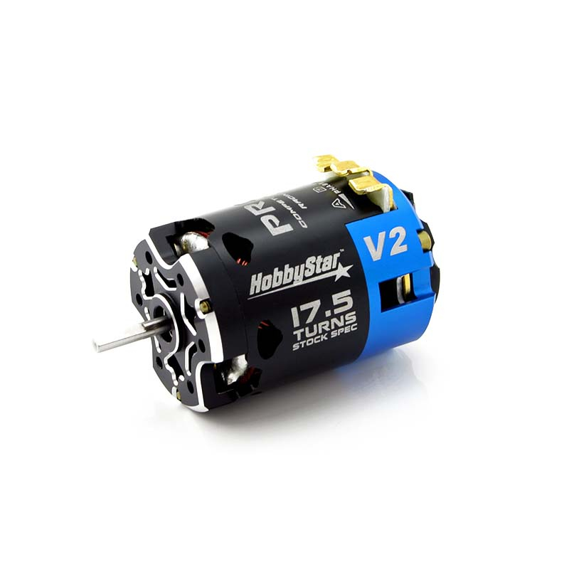 Hobbystar v2 540 competition brushless sensored motor 10 for 10 5 t brushless motor