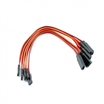 HobbyStar 150mm Servo Extension, 5pk
