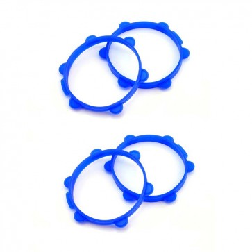 "HobbyStar ""Fastrax"" 1/8 Tire Gluing Bands, Set of 4"