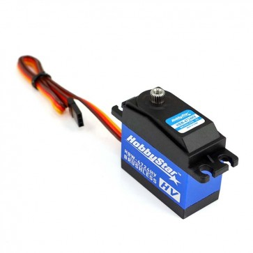 HobbyStar HBW-4724HV, Massive-Torque, High-Speed Digital  Brushless Waterproof Servo