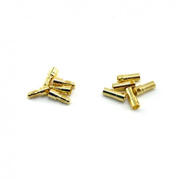 Bullet Connector Set 3.5mm/Gold, 5 Sets