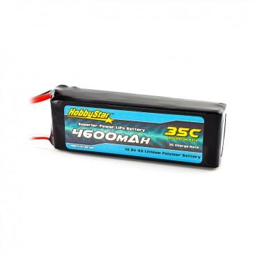 HobbyStar 4600mAh 14.8V, 4S 35C LiPo Battery
