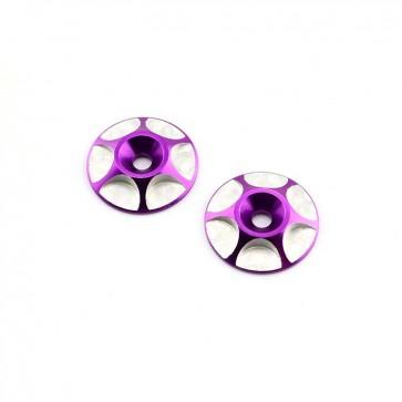 HobbyStar Wing Buttons, Purple
