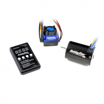 HobbyStar 1/10 Combo, 60A ESC and 540 Brushless 4-Pole Motor, Includes Program Card