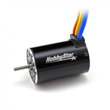 HobbyStar 550 4-Pole Brushless Sensorless Motor, 3.2mm Shaft