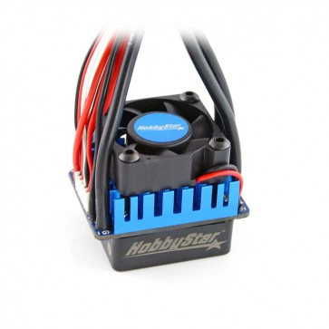 HobbyStar 60A Brushless Sensorless RTR ESC, Splashproof