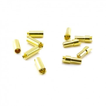 HobbyStar Bullet Connector Set 6.0mm/Gold, 5 Sets