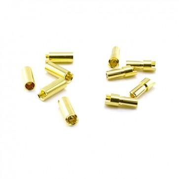 HobbyStar Bullet Connector Set 5.5mm/Gold, 5 Sets