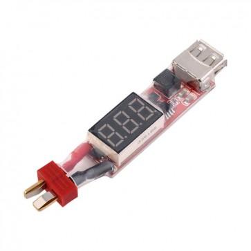 HobbyStar LiPo To USB Power Converter, Dean's