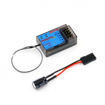 HobbyStar HFS04C 2.4GHz 4ch. S-FHSS SBus Compatible Receiver For Futaba Radios