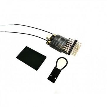 Lemon RX DSMX Compatible Full-Range 6-Channel Receiver, True Dual Diversity Antenna LM0034