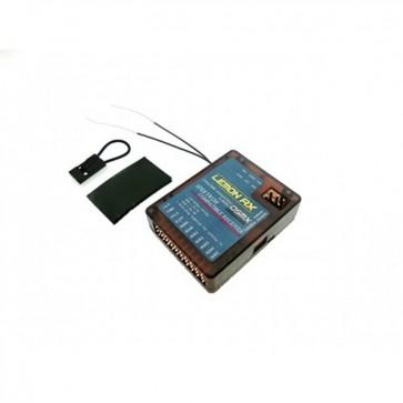 Lemon RX DSMX Compatible Full-Range 10-Channel Receiver, True Dual Diversity Antenna LM0040