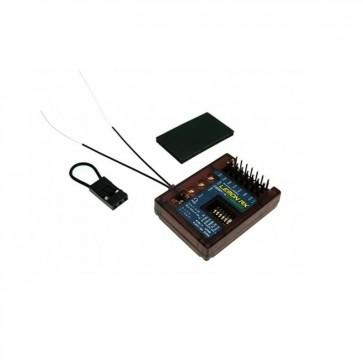 Lemon RX DSMP/X Compatible 7-Channel Receiver With Stabilizer PLUS, Diversity (Top-Pin) LM0043