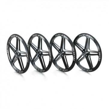 SkyRC Setup Wheels, Black