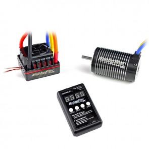 HobbyStar 1/8 Combo, 120A ESC and 4068 Brushless 4-Pole Motor, Includes Program Card
