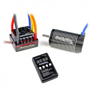 HobbyStar 1/8 Combo, 150A ESC and 4076 Brushless 4-Pole Motor, Includes Program Card