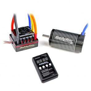 HobbyStar 1/8 Combo, 150A ESC and 4076 Brushless 4-Pole Motor, Includes Program Card