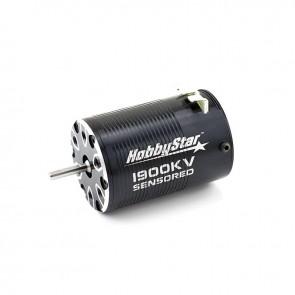HobbyStar 540 4-Pole Brushless Sensored Crawler Motor