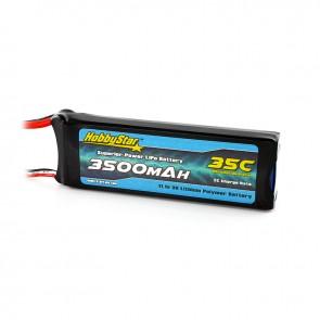 HobbyStar 3500mAh 11.1V, 3S 35C LiPo Battery