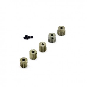HobbyStar 48DP Pinion Gear Set, Aluminum