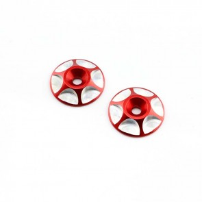 HobbyStar Wing Buttons, Red