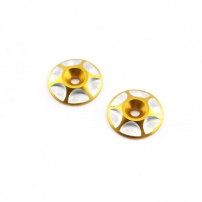 HobbyStar Wing Buttons, Gold