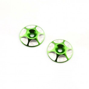 HobbyStar Wing Buttons, Green