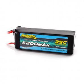 HobbyStar 5200mAh 18.5V, 5S 35C LiPo Battery