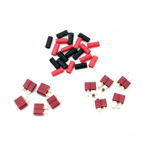HobbyStar Deans style Connectors With Shrink Tubing, 5 Sets