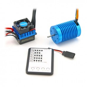 HobbyStar 1/10 Combo, 60A ESC and 3650 Brushless Motor, Includes Program Card
