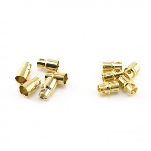 HobbyStar Bullet Connector Set 8.0mm/Gold, 5 Sets