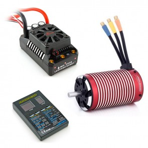 Leopard 1/5 Combo, BL5 200A ESC and 5892 Brushless 4-Pole Motor, Includes Program Card - 1340KV