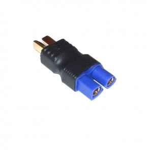 HobbyStar T-Plug/Deans Male to EC3 FM No-Wires Adapter
