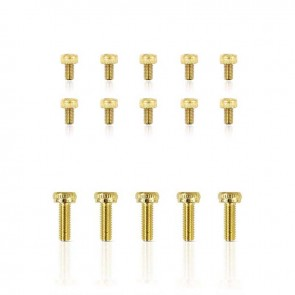 HobbyStar Steel Socket Head Screw, Gold, 10pk
