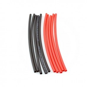 HobbyStar Heat-Shrink Tubing, 4mm, 5pcs. Red/Blk