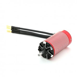 Leopard 3670 V2, 4-Pole Brushless Sensorless Motor For 1/10, Lightweight 1/8