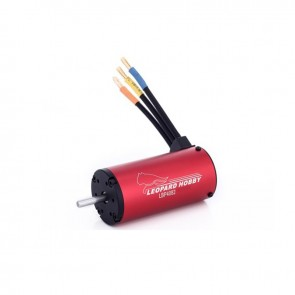 Leopard 4082, 4-Pole Brushless Sensorless Motor For 1/8 Scale/Lighweight 1/5 Scale