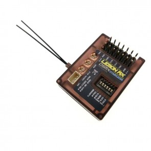 Lemon RX DSMX Compatible 7-Channel Receiver With Stabilizer and Dual-Diversity Antenna  (Top-Pin) LM0005D