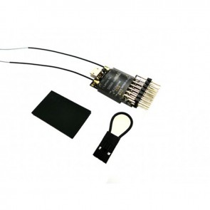 Lemon RX DSMX Compatible Full-Range 6-Channel Receiver, True Dual Diversity Antenna LM0034