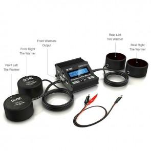 SkyRC RacingStar Pro Electronic Tire Warmer, 1/10 Touring/Drift Car