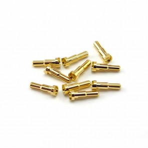 HobbyStar 4mm to 5mm Low-Profile Bullet Connectors, 10pk