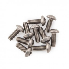 HobbyStar Titanium Button Head Screw, 10pk
